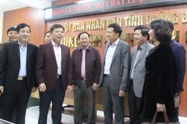 Chủ tịch UBND tỉnh kiểm tra tình hình hoạt động tại Trung tâm Hành chính công tỉnh