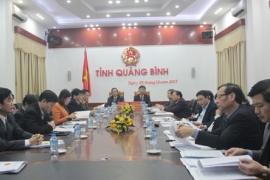 Hội nghị trực tuyến với các địa phương để triển khai nhiệm vụ phát triển kinh tế - xã hội và dự toán ngân sách Nhà nước năm 2018