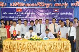 Đẩy mạnh hợp tác phát triển công nghiệp, thương mại Quảng Bình-Khăm Muộn